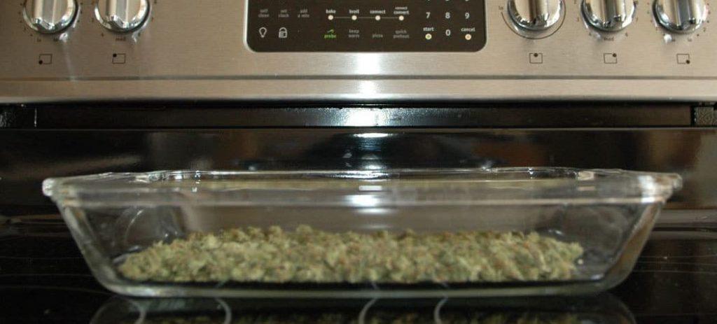 Oven drying (baking) method