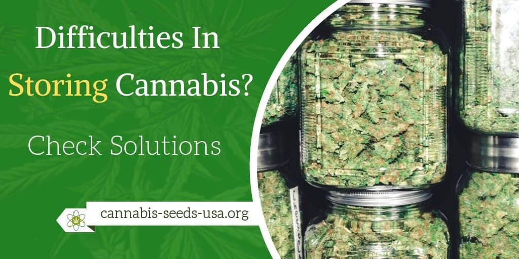 Facing difficulties In Storing Cannabis? - Check Solutions