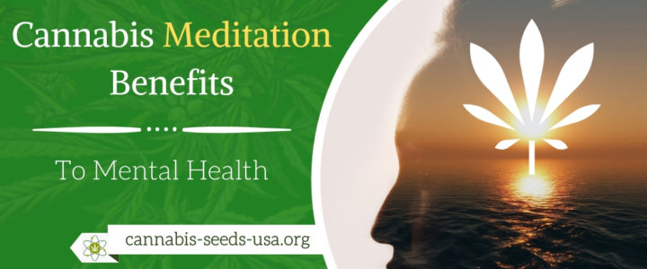 Cannabis Meditation Benefits to Mental Health