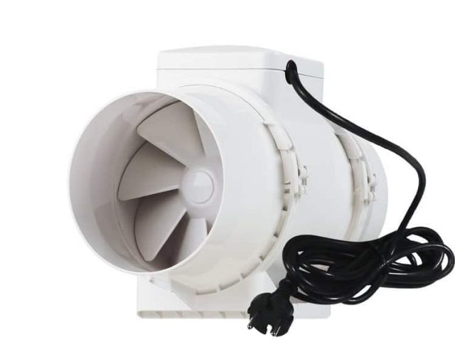 Air extractor for the grow room