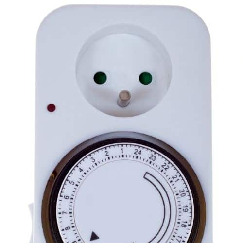Timer for growing equipment